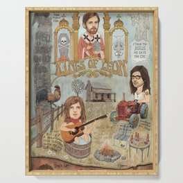 Kings Of Leon - Back Down South Serving Tray