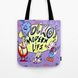 Rocko and Family Tote Bag