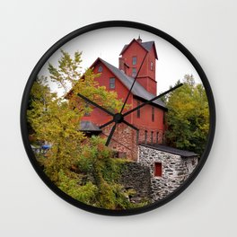 The Chittenden Mill Wall Clock