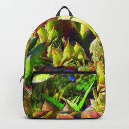 """""""Hens and Chicks"""" Made Seamless Backpack"""