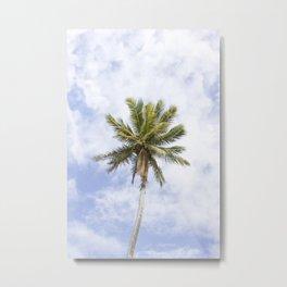 Palm Metal Print
