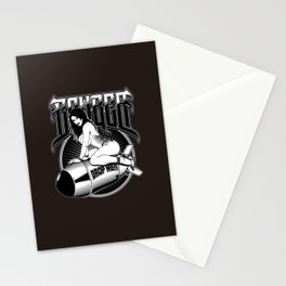 Bomber Pin-Up Girl Stationery Cards