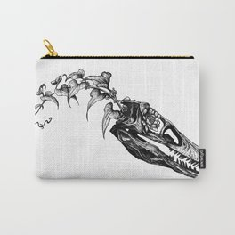 Jurassic Bloom - The Clever Girl Carry-All Pouch