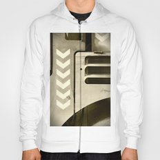 Road Roller Chevron 05 - Industrial Abstract (everyday 22.01.2017) Hoody