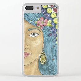Martha of Bethany Clear iPhone Case