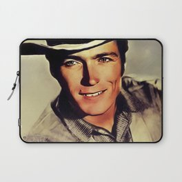 Clint Eastwood, Hollywood Legend Laptop Sleeve