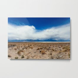 The Calm in Death Valley Metal Print