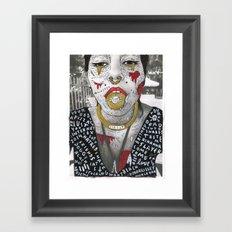 HIDE YOUR KIDS Framed Art Print