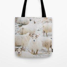 Icelandic Sheep Tote Bag