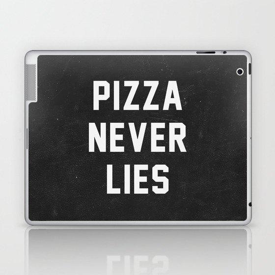 Pizza Never Lies Laptop & iPad Skin