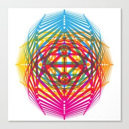 4 Corners of Abundance (wide) Canvas Print