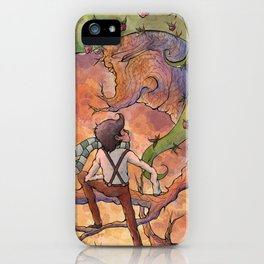 Ode to The Giving Tree iPhone Case