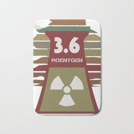 3.6 Röntgen - Not Great, Not Terrible Chernobyl Atom Reactor Explosion Bath Mat