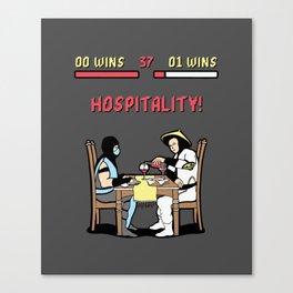 Hospitality! Canvas Print