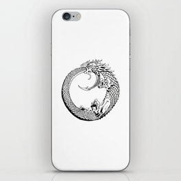 The Wyrm has Turned iPhone Skin