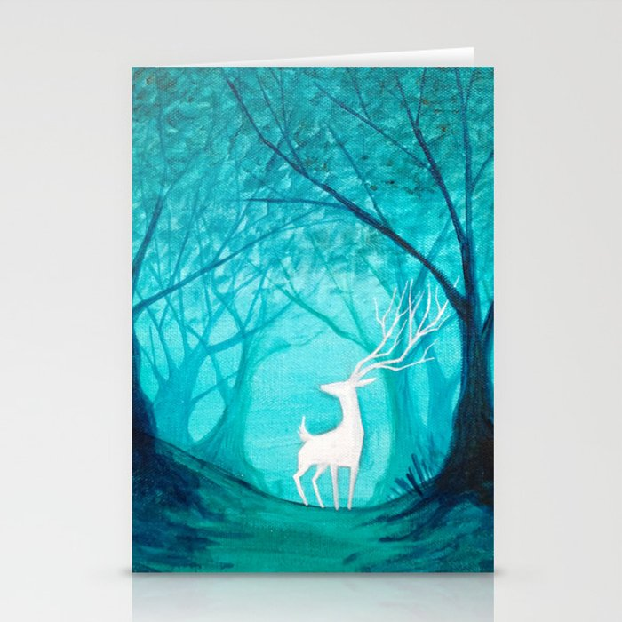 White Stag Stationery Cards