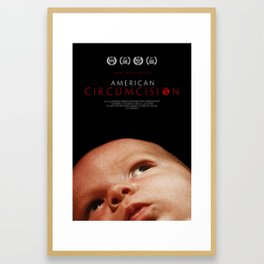 American Circumcision Movie Poster - Baby Framed Art Print