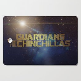 Guardians of the Chinchillas Cutting Board
