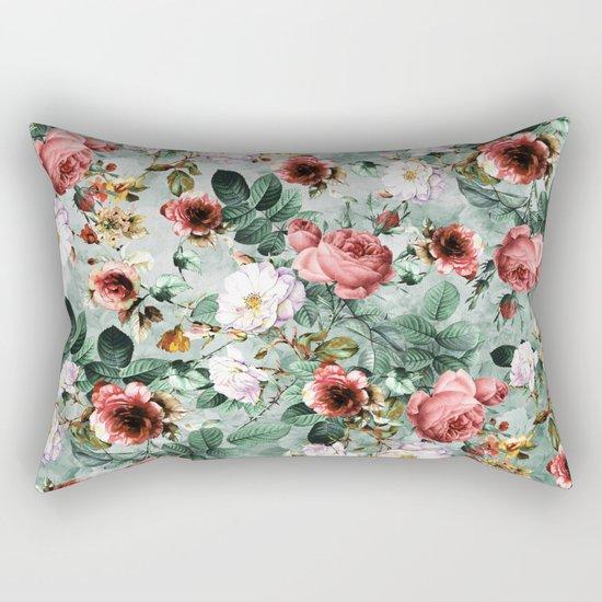 Rpe Seamless Floral Pattern I Rectangular Pillow