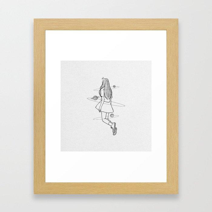 Lossless soul. Framed Art Print