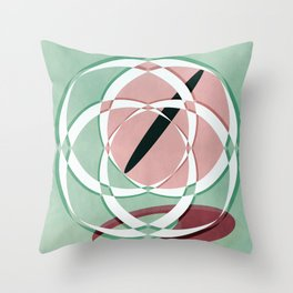 Abstract 2017 050 Throw Pillow