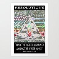 Chakranicity Resolutions 7 Art Print