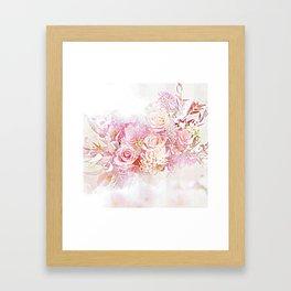Pink Cloud Framed Art Print