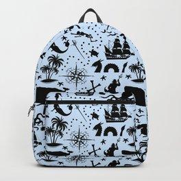 High Seas Adventure // Light Blue Backpack