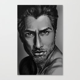 Masood Portrait Canvas Print