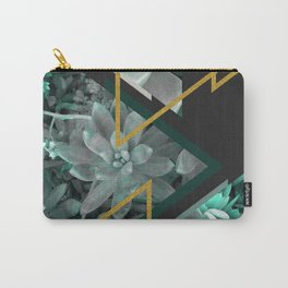 Gloomy Succulents #society6 #decor #buyart Carry-All Pouch