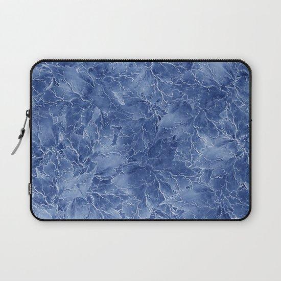 Frozen Leaves 14 Laptop Sleeve