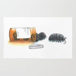 Pill bugs Rug