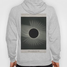 The Trouvelot Astronomical Drawings (1881) - A Total Eclipse of the Sun, 1878 Hoody