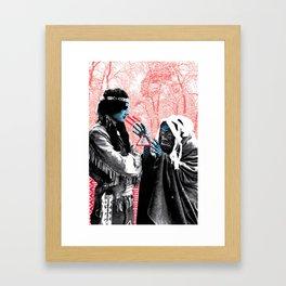 Witch Dr.  Framed Art Print