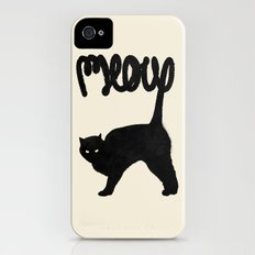 Meow Slim Case iPhone (4, 4s)