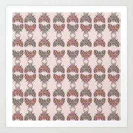 Good Bugs Art Print