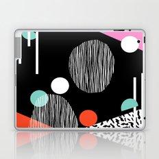 Mega Bulk - 80s style throwback retro pattern art memphis grid pattern minimalist 1980's Laptop & iPad Skin