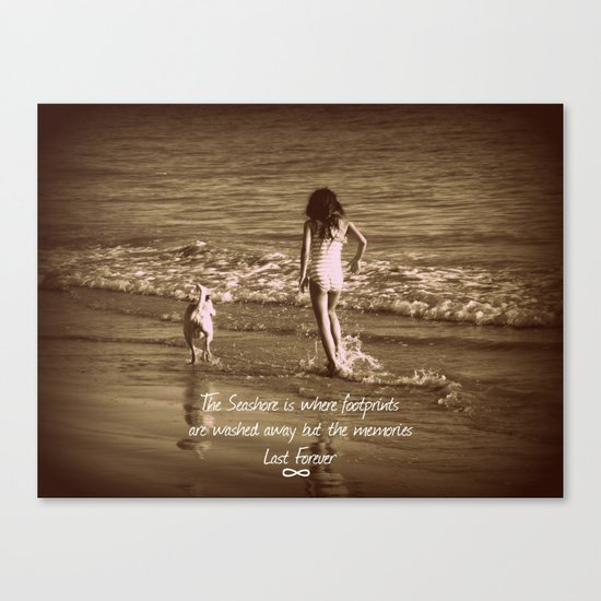 Seashore Memories Canvas Print