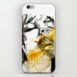 splash portraits iPhone Skin