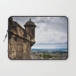 View of Edinburgh, Scotland from Edinburgh Castle Laptop Sleeve