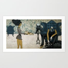 32 Years of Peace. Art Print