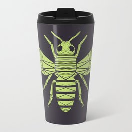 The Bee is not envious - Geometric insect design Travel Mug