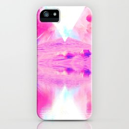 Pink Swimming Pool by GEN Z iPhone Case