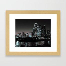 Night-time Chi Framed Art Print