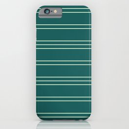 Simple Lines Pattern gr iPhone Case