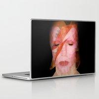 bowie Laptop & iPad Skins featuring bowie by Taranta Babu