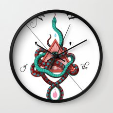 Wrath of the Serpent Wall Clock
