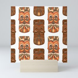 African masks Mini Art Print