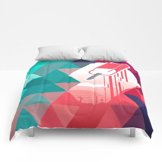Watermelon Popsicle Comforters