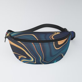 Azurite Waves Fanny Pack